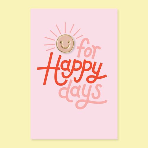 Happy day pin + post