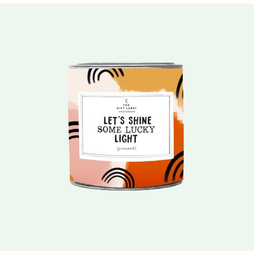 Let's Shine Some Lucky Light Tin 310g - Jasmine Vanilla