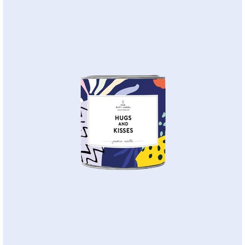Hugs and Kisses Candle Tin 90g - Fresh Cotton