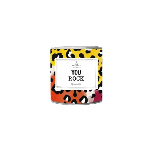 You Rock Candle Tin 90g - Jasmine Vanilla