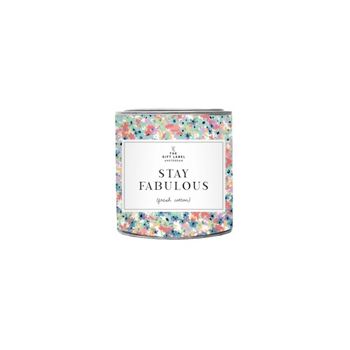 Stay Fabulous Candle Tin 90g - Jasmine Vanilla