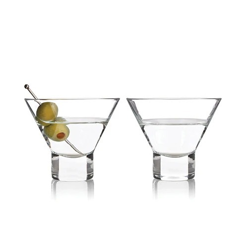 Raye Stemless Martini Glasses by Viski BO23/8