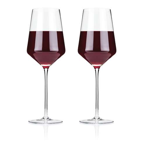 Raye Crystal Bordeaux Glasses (Set of 2) by Viski BO 23/04