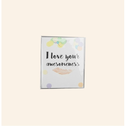 I Love Your Awesomeness Confetti Card