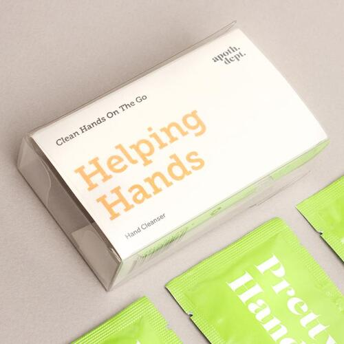Helping Hands Wipes- Clean Hands on the Go