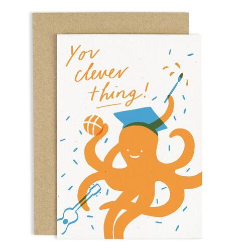 Octopus Clever Thing Card