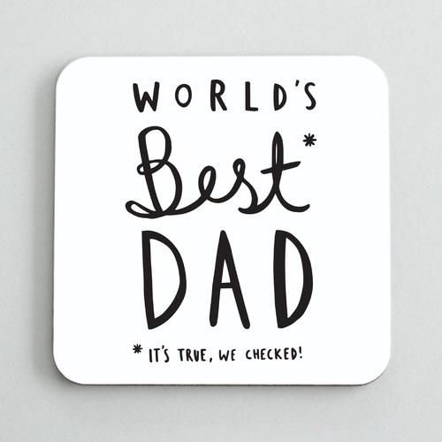 World's Best Dad Coaster
