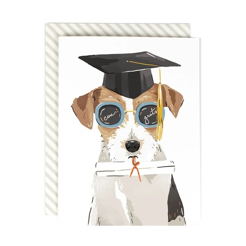Bright Future Grad Dog