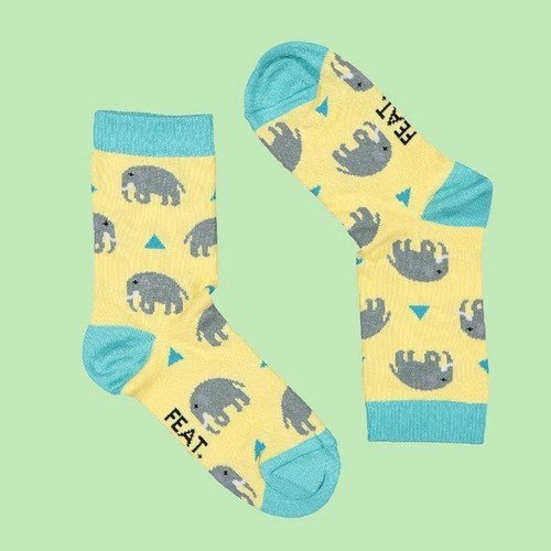 Kid's Elephant socks (2-4 years)