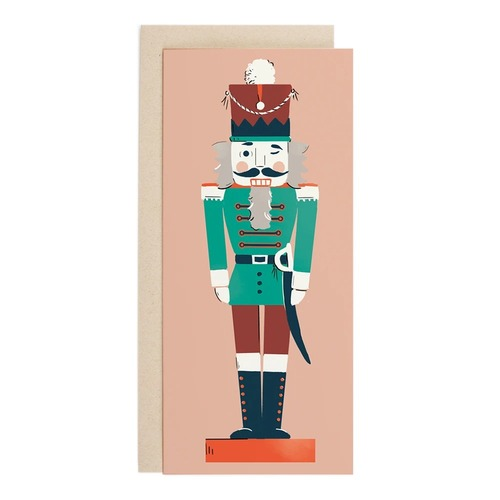 Nutcracker soldier NO. 10 card