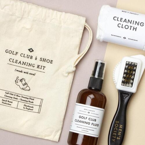 Golf Club and Shoe Cleaning Kit