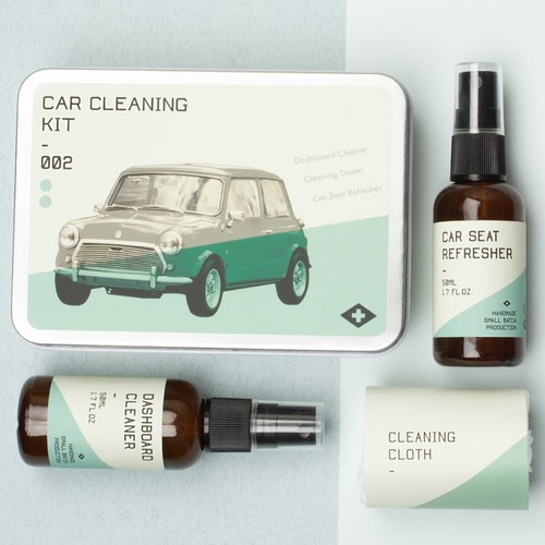 Car Cleaning Heritage Kit