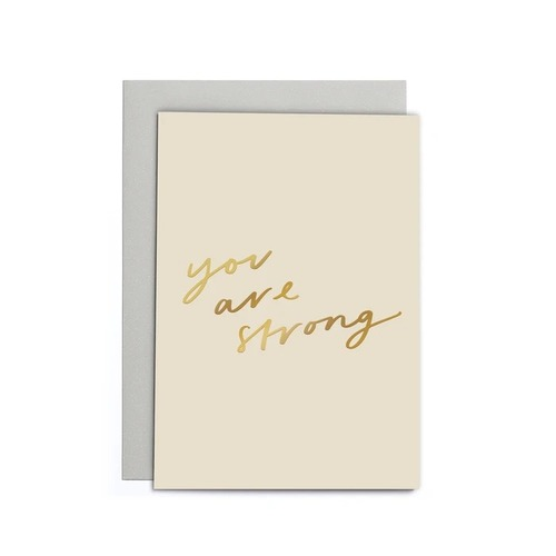 You Are Strong Small Card