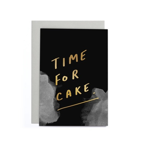Time For Cake Small Card