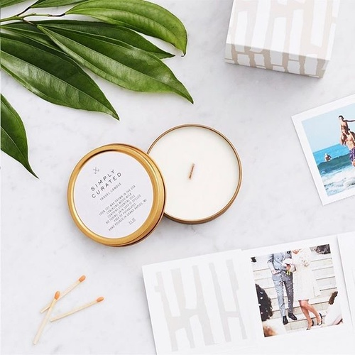 Smoke + Embers Soy travel candle